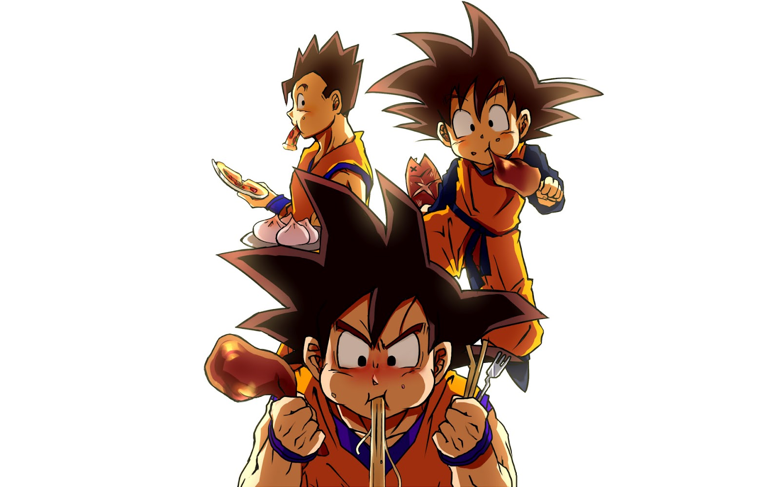 Dragon ball z wallpapers normal goten - Dragon ball z goku son ...