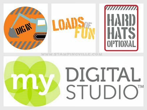 My Digital Studio by Stampin' Up! for digital designing & scrapbooking
