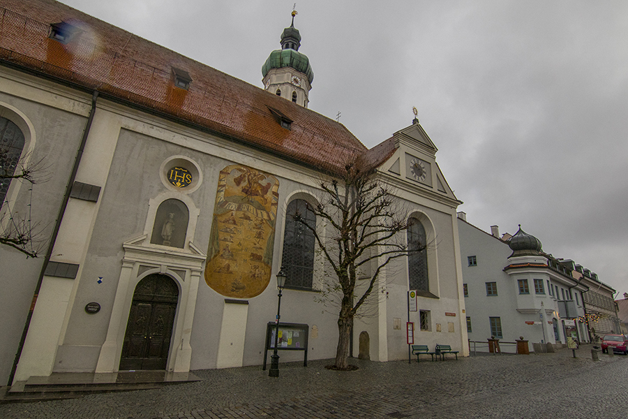 Iglesia parroquial de St. Jakob, Dachau, Alemania