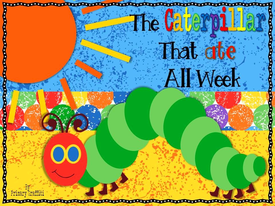 http://www.teacherspayteachers.com/Product/The-Caterpillar-That-Ate-All-Week-Freebie-Reader-1165233