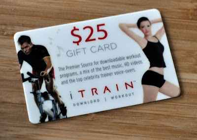 iTrain $25 Gift Card - Photo by Taste As You Go