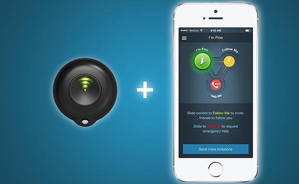 React Sidekick Wearable Safety Device Starts Crowdfunding ...