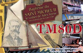 Botadura de la réplica del St Michel II, uno de los barcos de Verne en Nantes. Qsltm80d2