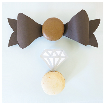 Wedding Macaroons by Love. Luck. Kisses & Cake  |  LLK-C.com