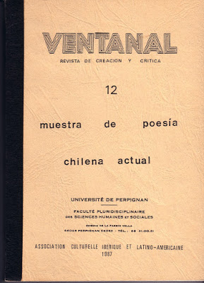 Université de Perpignan, France, 1987. (Poema de Patricio SANCHEZ,  Los trenes de Antilhue, p.90)
