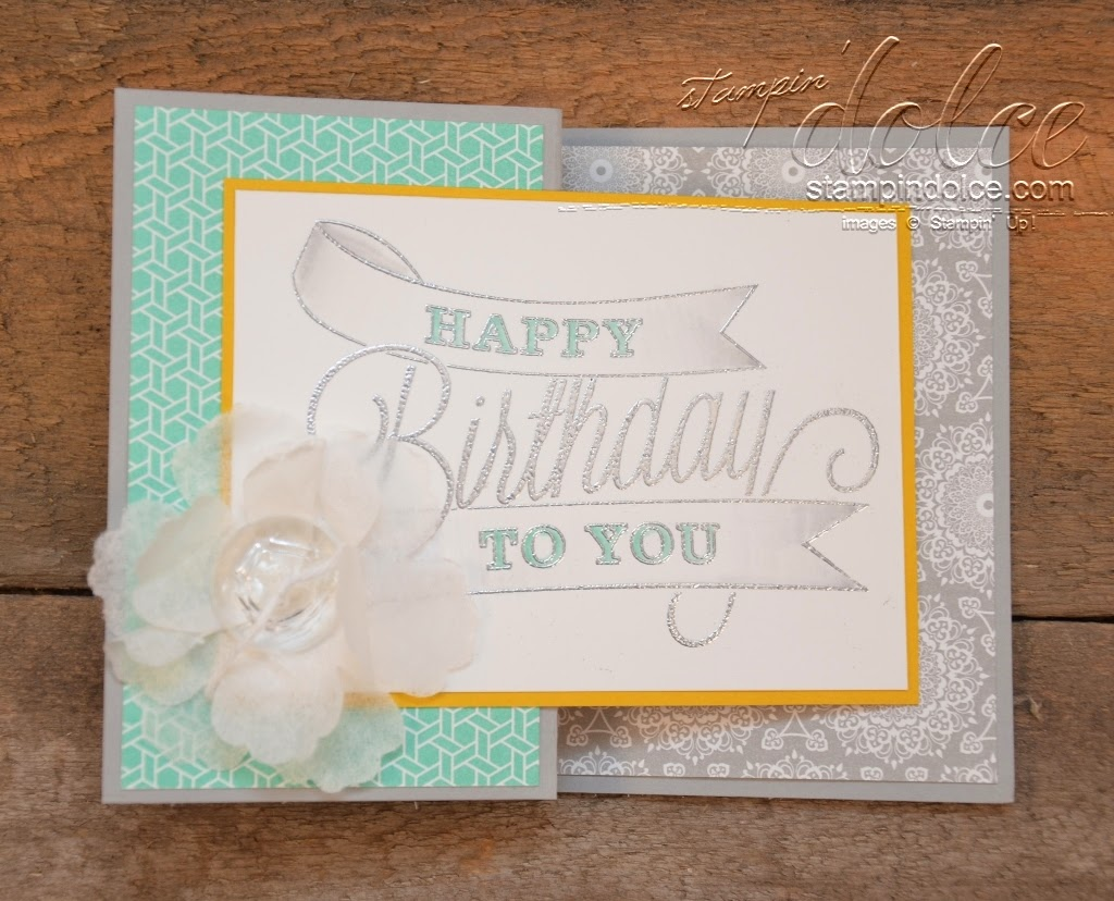 9d02d2643 Stampin  Dolce  diy Zfold card tutorial