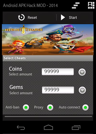 Download Cheat Tool Game Heroes Charge Apk [April 2015]