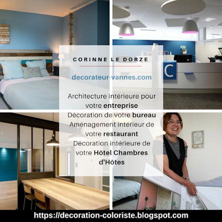 ♥PUB : Corinne Le Dorze Décoratrice coloriste et Architecte d'intérieur Designer VANNES MORBIHAN 56
