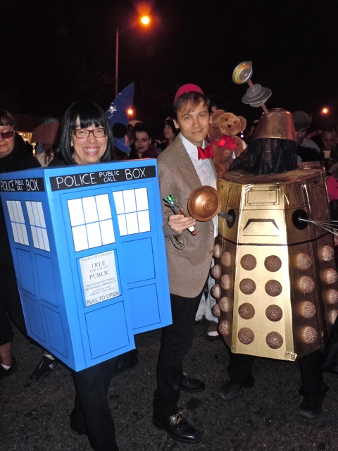 WEHO Halloween Dr Who costumes