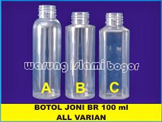 Botol PET JOni 100ml