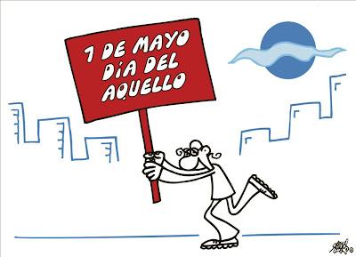 Viñeta de Forges el 1 de mayo de 2012, Día del aquello