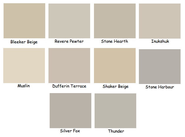 Ashley marie interiors my top 10 favourite neutrals for Cool beige paint colors
