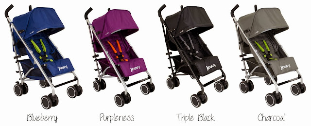 Joovy Groove Ultralight Stroller Color Options