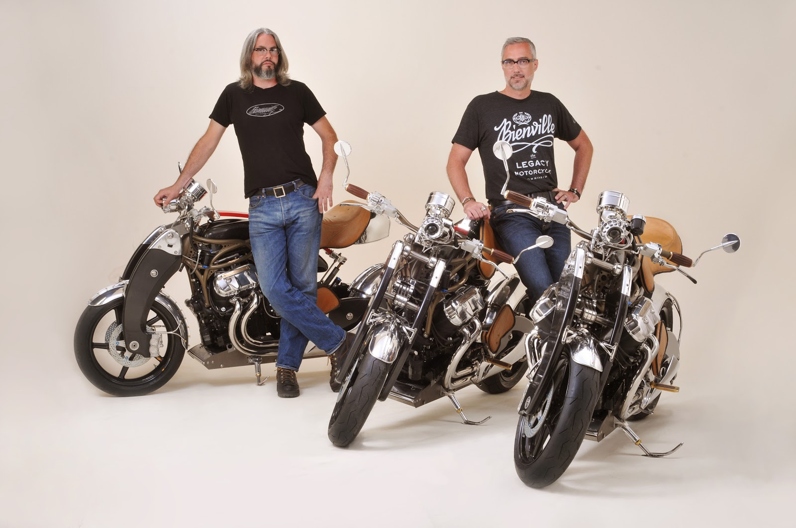 JT Nesbitt and Jim Jacoby Bienville Legacy Motorcycles