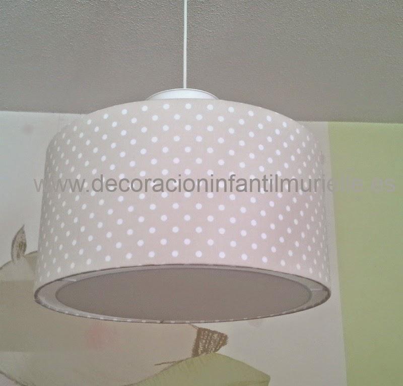 Pantalla cilindrica lampara de techo infantil - Lamparas de techo habitacion ...