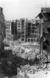 Març de 1939. Bombardeigs sobre diverses poblacions de Catalunya