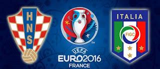 Kroasia vs Italia