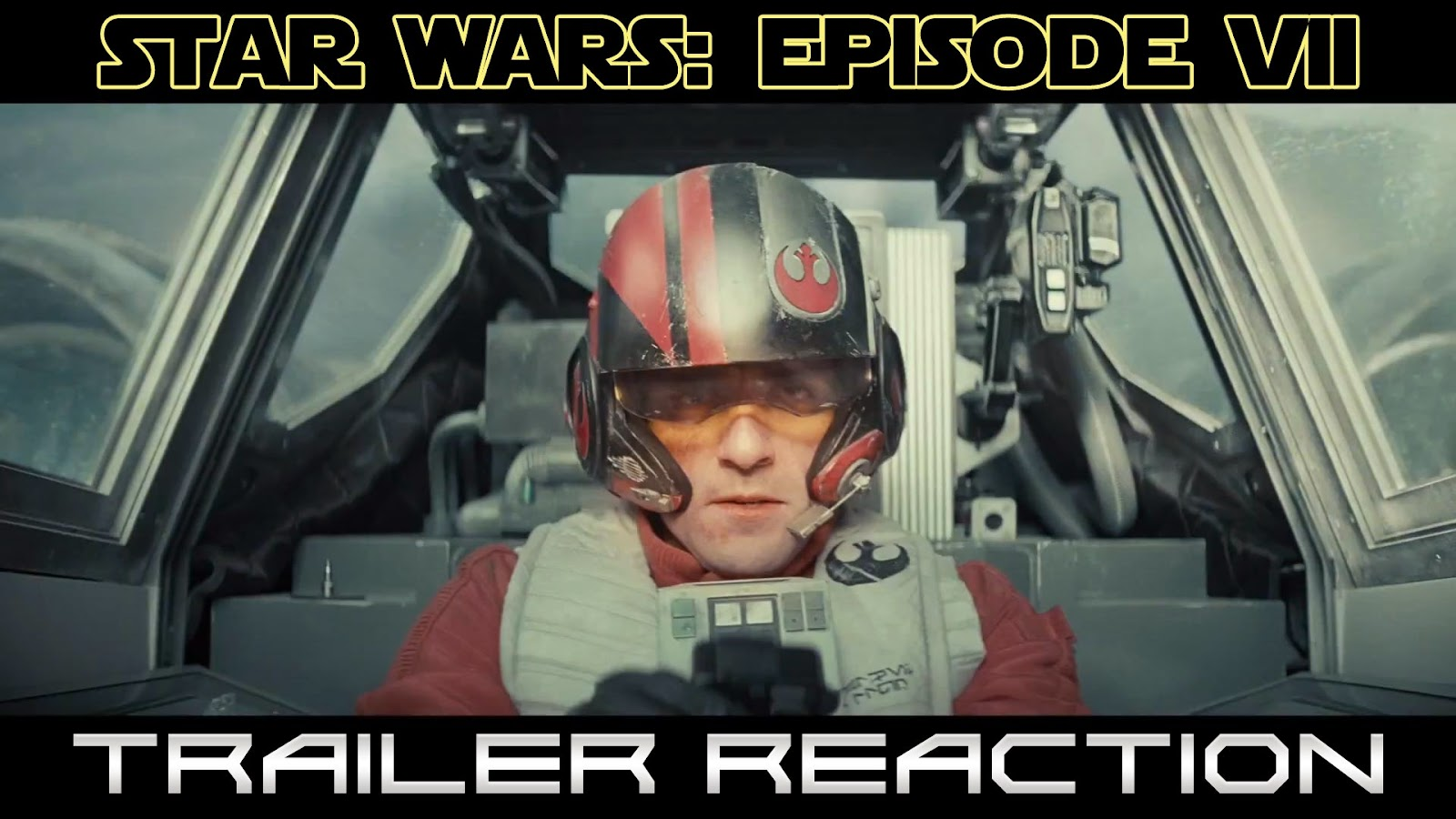 reaction to trailer for The Force Awakens Episode 7 Star Wars teaser #1