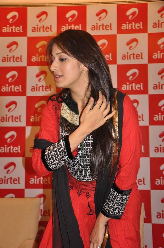 Tamil Actress Lakshmi Rai at AIRTEL Promotional Event unseen pics