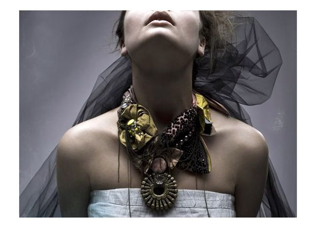 Gothic Necklace Bridal at Ecouterre.com