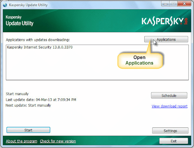 kapsersky offline updater1