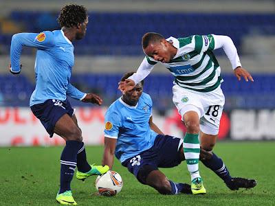 Lazio 2 - 0 Sporting Lisbon (1)
