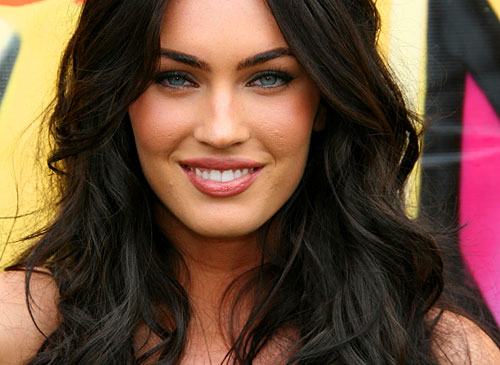 Megan Fox Smile. megan fox