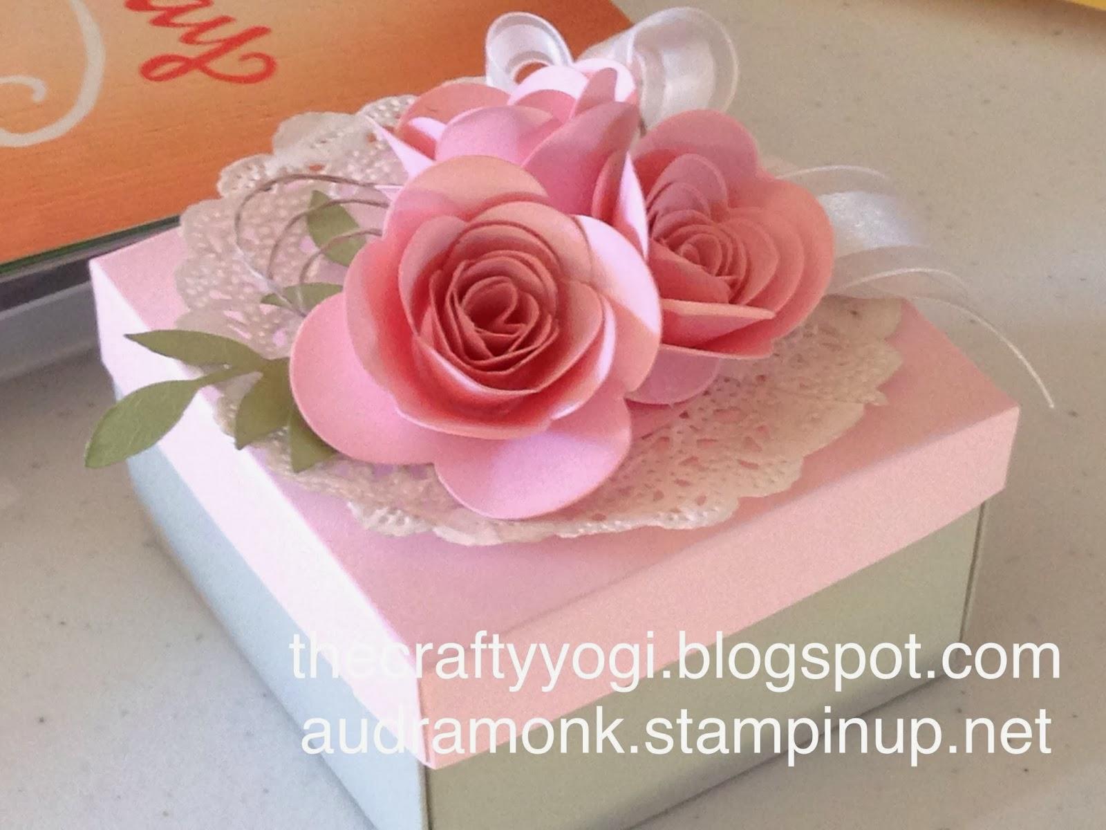 The Crafty Yogi Spiral Flower Die Gift Box