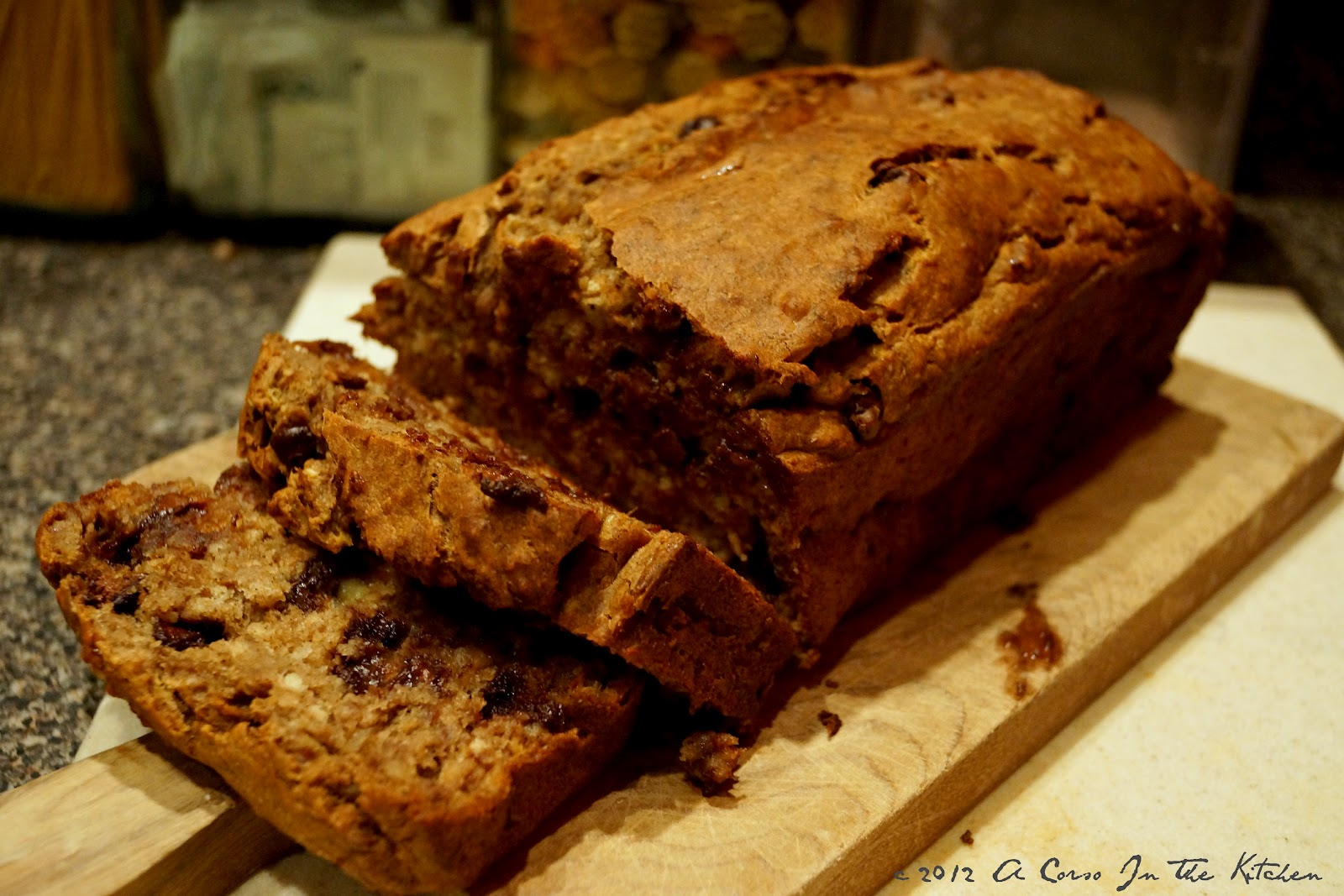 Chocolate Chip Banana Bread | A Corso In The Kitchen