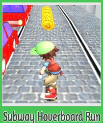 ����� ���� �� ��� ������� ��������� Subway Hoverboard Run