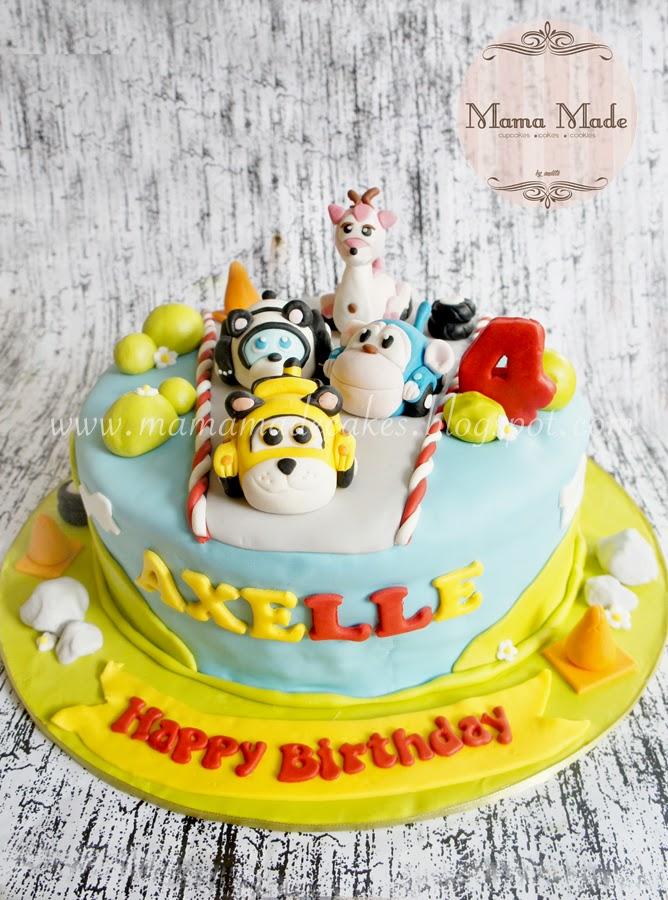 Vroomiz Themed Birthday Package Mama Made Cakes