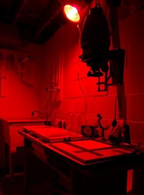 Certain irregularity the dark room