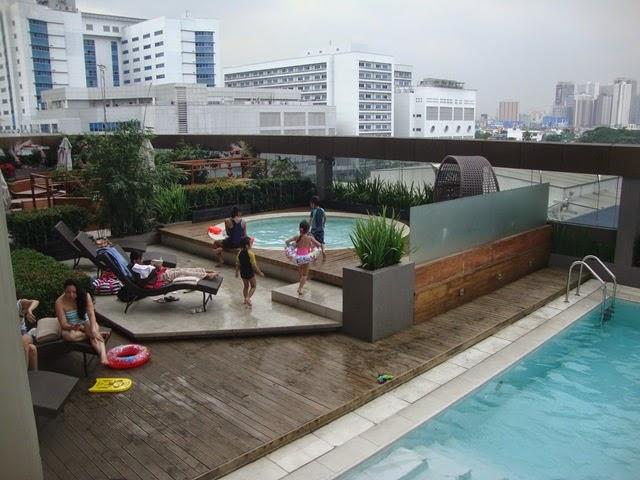 F1 HOTEL MANILA POOL, FORT HOTEL, HOTEL POOL