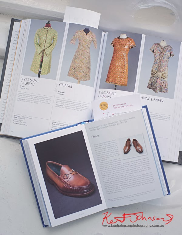 A Guys Guide to Style by Bernhard Roetzel, Pub - hf Ullmann Icons of Vintage Fashion - Definitive Designer Classics at Auction 1900-2000, By Pénélope Blanckaert and Angèle Rincheval Hernu, Pub - Abrams both books open shot