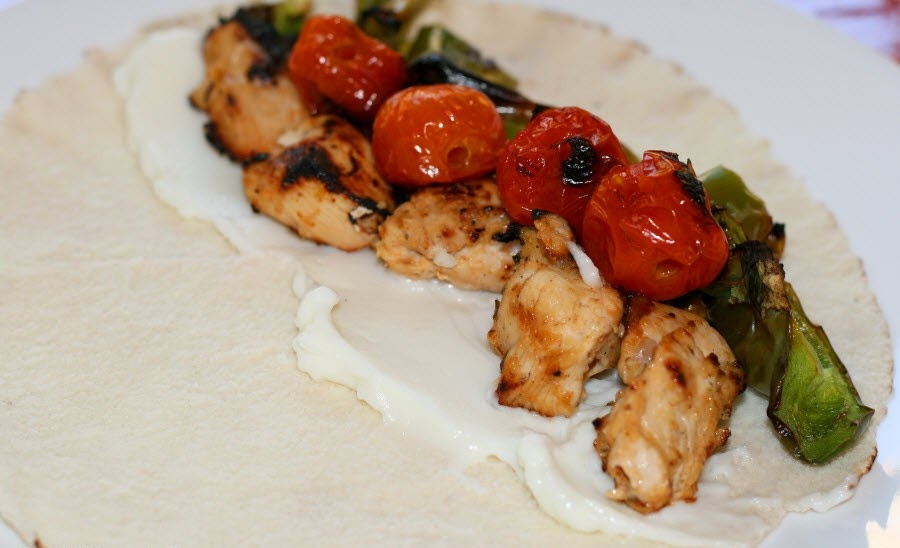 Lebanese Style Shish Tawook Chicken Kabob Recipe