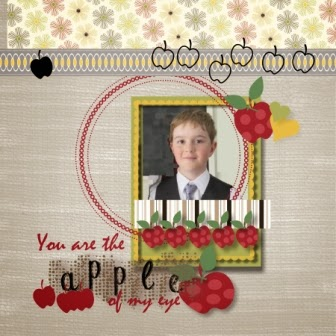 You are the apple of my eye created by zena kennedy independent stampin up demonstrator