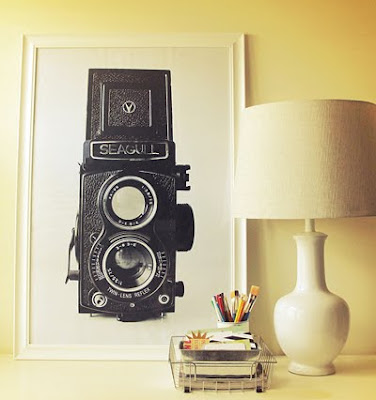 Vintage DIY wall art