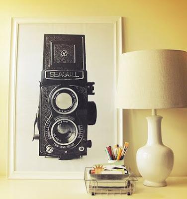 Vintage DIY wall art