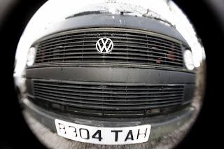 Volkswagen camper panel van