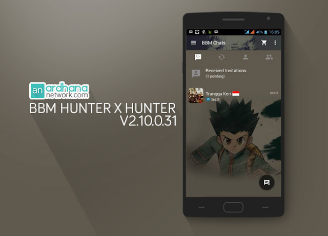 BBM Hunter X Hunter - Ardhananetwork