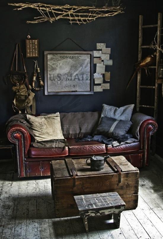 Decoracion vintage industrial retro chic - Decoracion vintage industrial ...