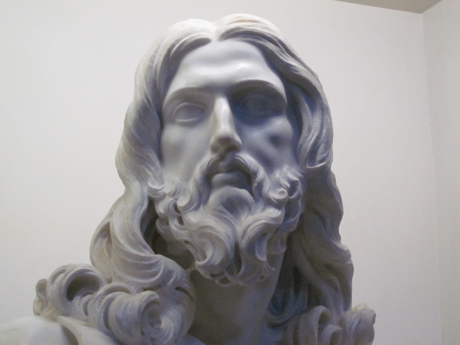 bernini and the statues of christian Start studying art quiz 2 learn  the bronze canopy in st peter's by bernini is called a baldacchino the christian tradition has many kinds of images of.