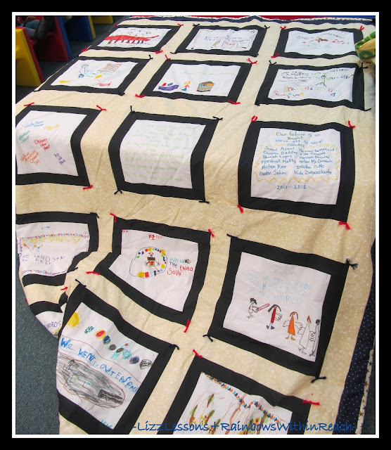 photo of: Kindergarten Quilt Memories via Quilt RoundUP at RainbowsWithinReach