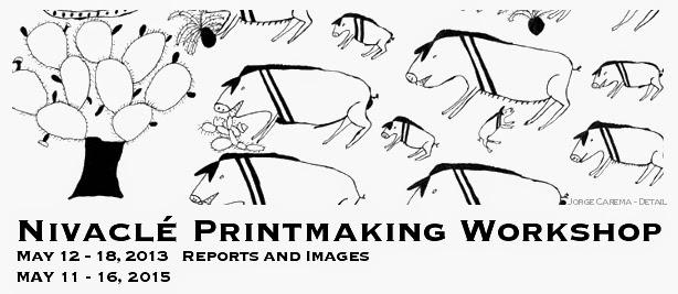 Nivaclé Printmaking Workshop