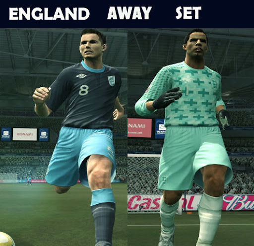 England 11/12 Away & GK Away Kits by Kolia V