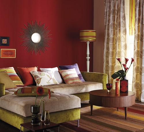 El color burdeos en la decoraci n cocinas modernass for Casa minimalista roja