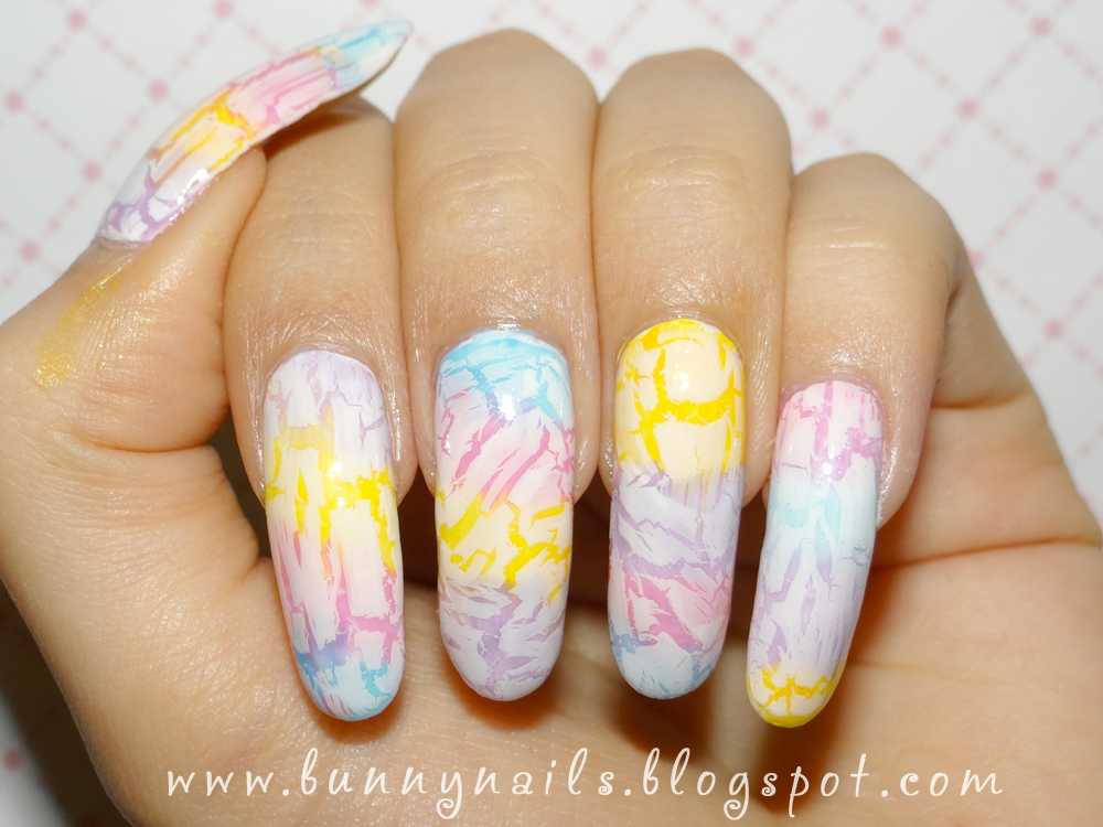 White Crackle Nail Polish Designs Creative Touch