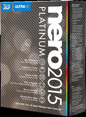 nero platinum 2015 patch