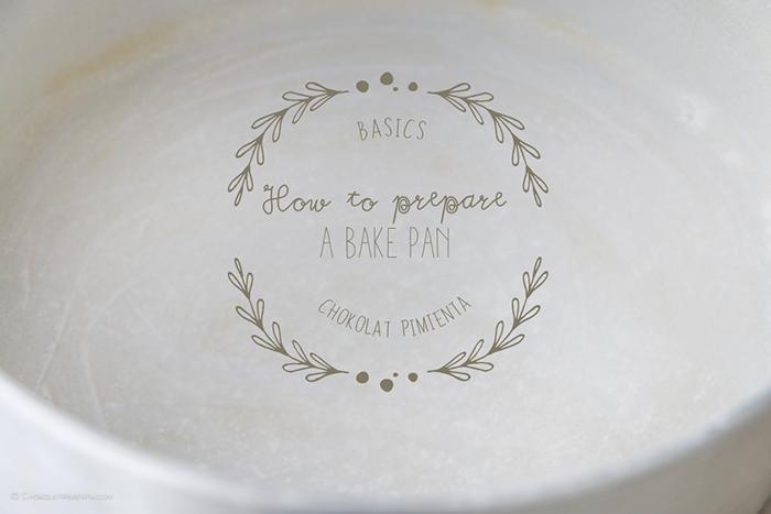 How to prepare a bake pan
