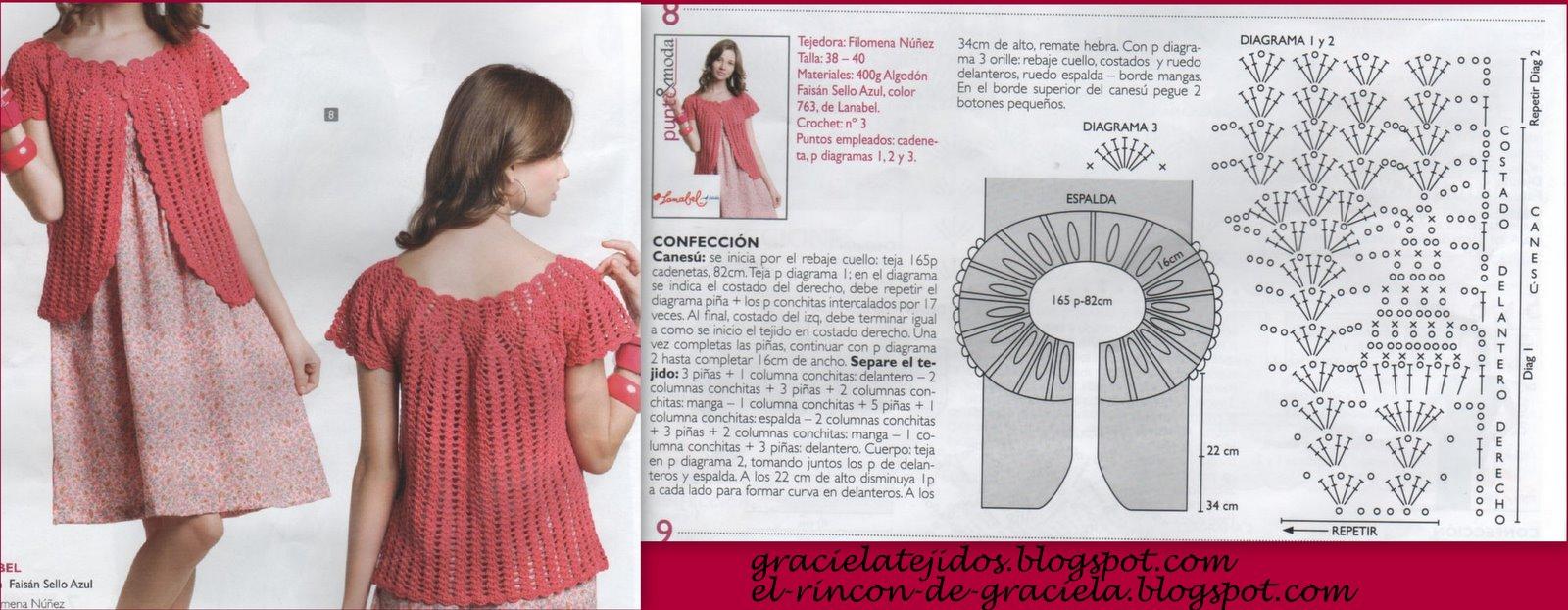 Chalecos A Crochet De Una Sola Pieza | Consejos De Fotografía